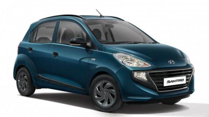 Обновлён хэтчбек Hyundai Santro