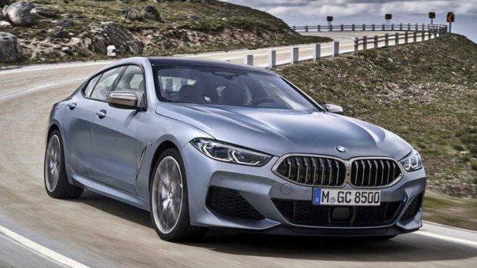 ВРоссии начались продажи BMW 8-Series Gran Coupe