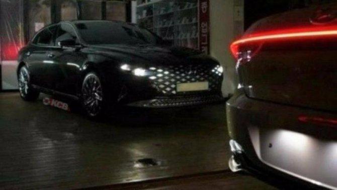 Новый Hyundai Grandeur лишился камуфляжа