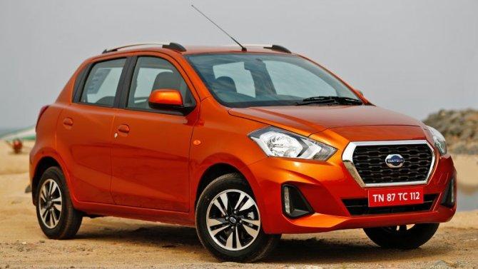 В Индии начались продажи Datsun GO с вариатором