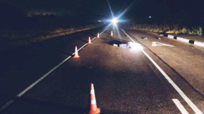 В Волховском районе Ленобласти водитель насмерть сбил пешехода и скрылся
