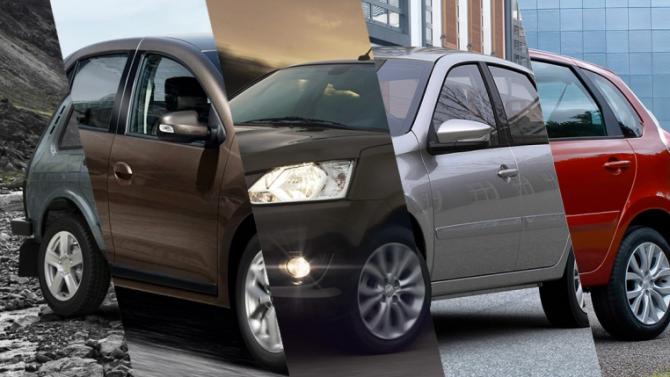 Топ-5 самых дешевых автомобилей вРоссии поданным наоктябрь