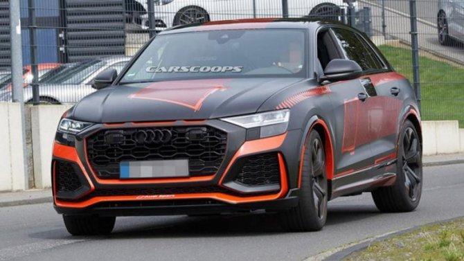Кпрезентации готовится новый «заряженный» кроссовер Audi