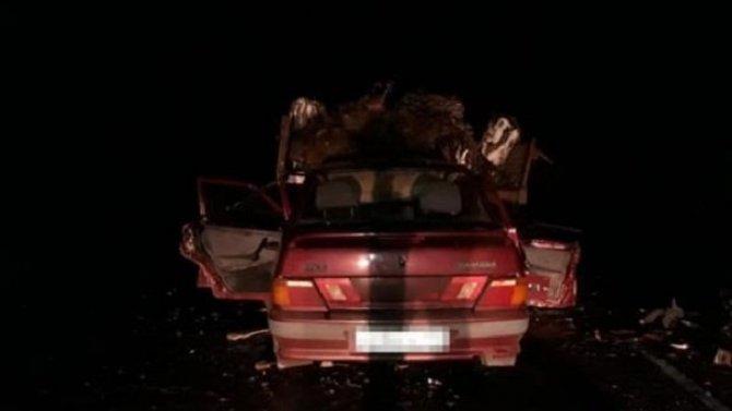 В Башкирии в ДТП с трактором погибла женщина