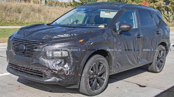 Начались испытания нового Nissan X-Trail
