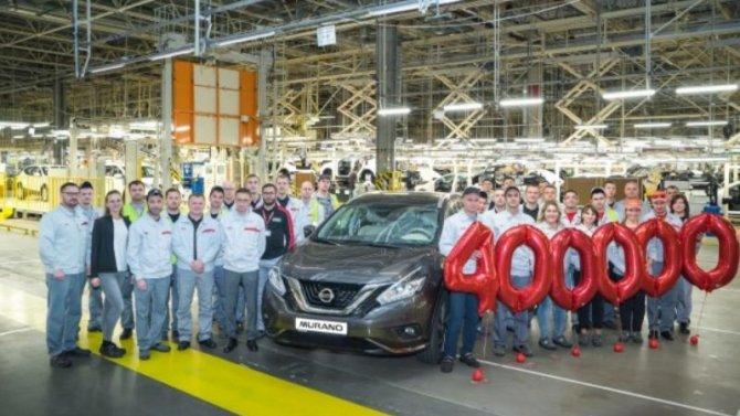 ВРоссии собран юбилейный Nissan