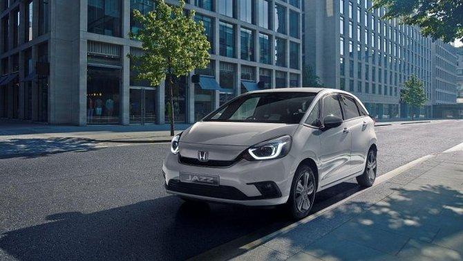 Токио-2019: Honda Jazz будет только гибридной