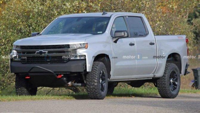 Обновлённый Chevrolet Silverado ZRX появится в2021 году