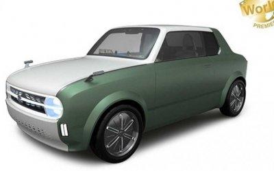 ВSuzuki подготовили концепт-кар вретро-стиле