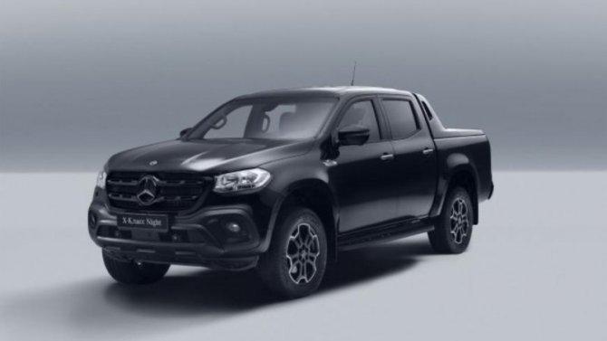 ВРоссии начались продажи спецверсии пикапа Mercedes-Benz