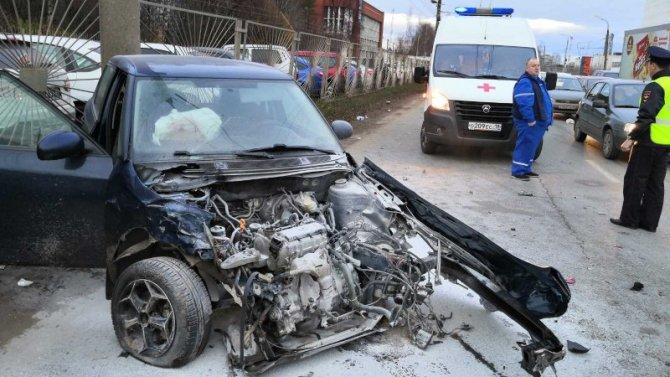 Ребенок пострадал в ДТП в Ижевске
