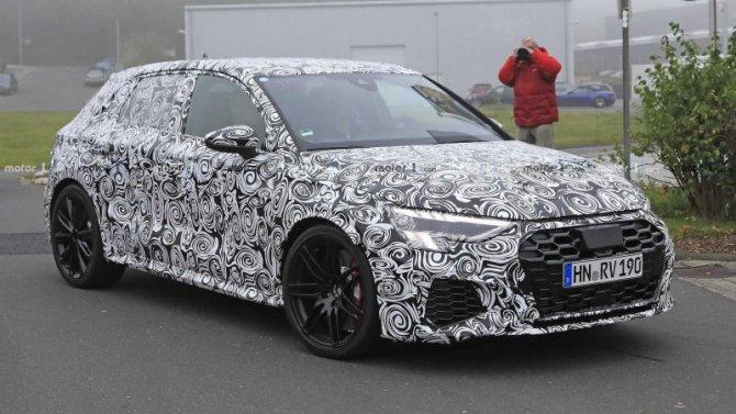 ВГермании тестируется новый AudiRS 3 Sportback