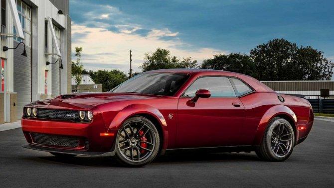 Dodge Challenger получит гоночную версию