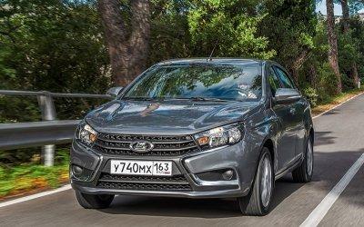 Lada Vesta получила новую комплектацию Exclusive