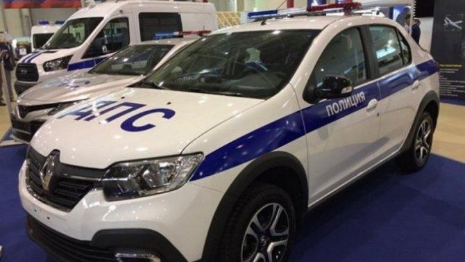 Renault Logan Stepway получил полицейскую версию