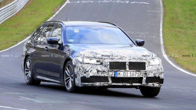 На «Нюрбургринге» появились новые BMW 5-Series