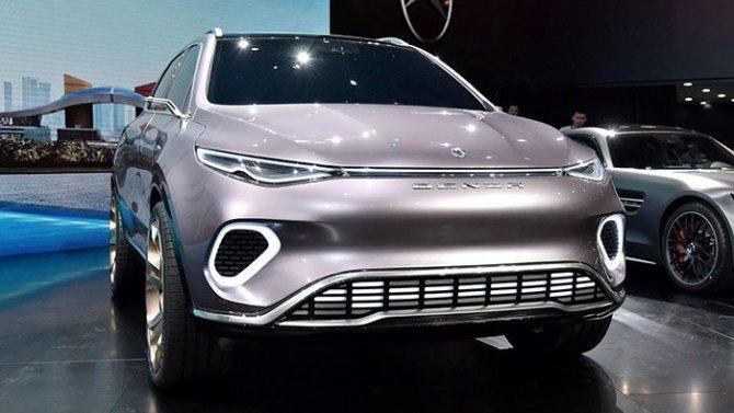Mercedes-Benz иBYD представили новый электромобиль