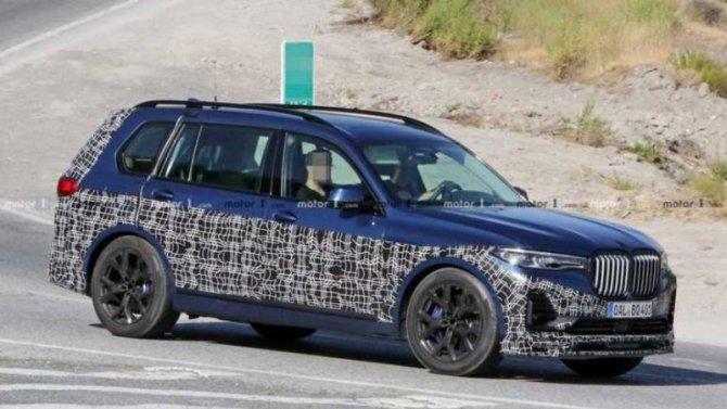 ВAlpina «зарядили» BMW X7