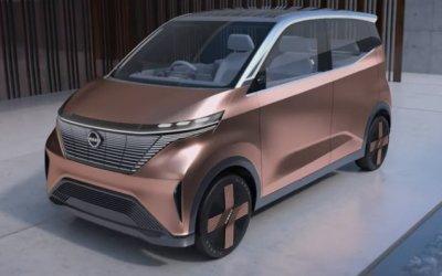 Nissan анонсировал презентацию нового электромобиля