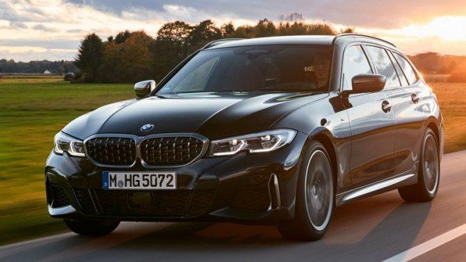 «Заряженный» универсал BMW 3-Series: известны подробности