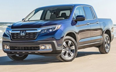 Пикап Honda Ridgeline получит гибридную версию