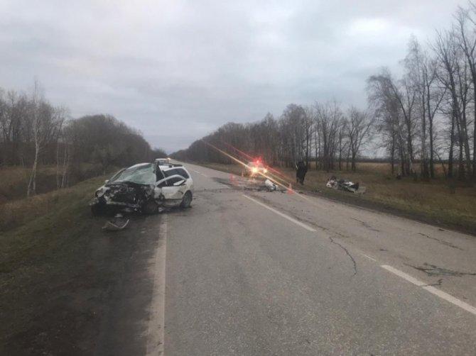 В лобовом ДТП под Тольятти погибли два водителя (1)