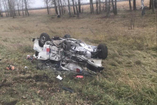 В лобовом ДТП под Тольятти погибли два водителя (2)