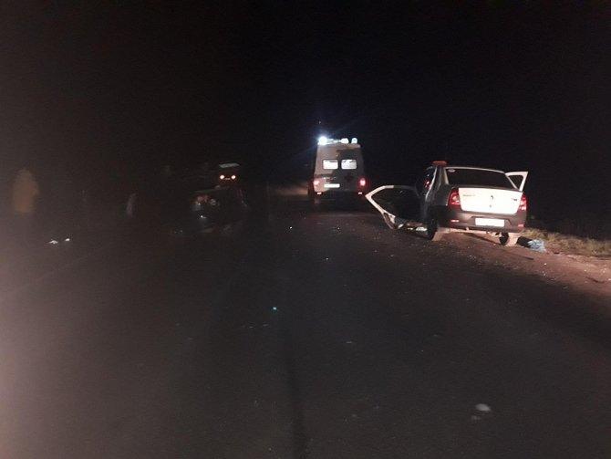 Четыре человека пострадали в ДТП под Рыбным (1)