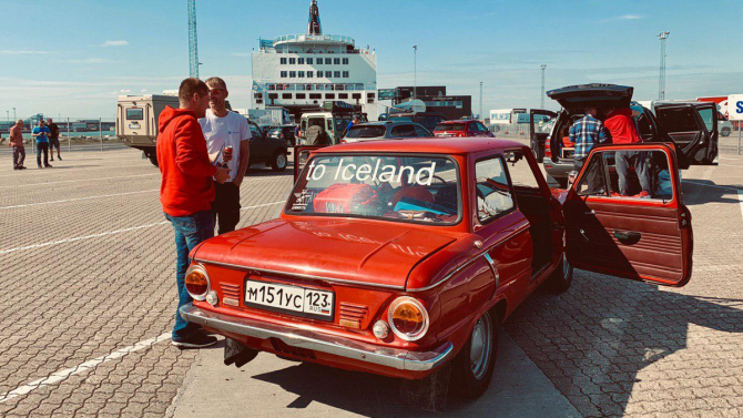 Запорожец до Исландии 1