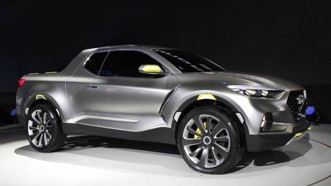 Производство первого пикапа Hyundai начнётся в2021 году
