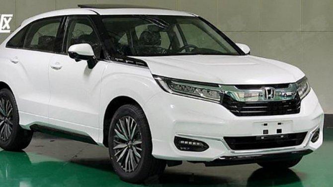 Рассекречены внешность иданные нового кроссовера Honda Avancier