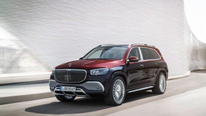 Гуанчжоу-2019: представлен роскошный Mercedes-Maybach GLS