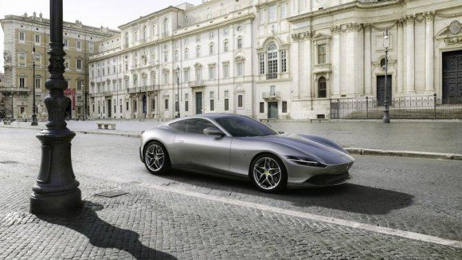 Ferrari Авилон представляет новый спорткар Ferrari Roma