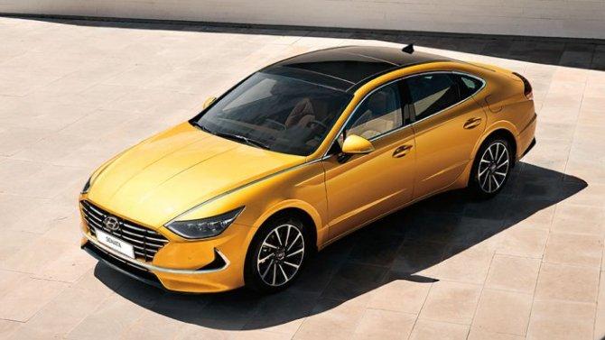 Hyundai представила восьмое поколение модели SONATA.
