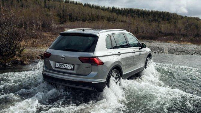 Volkswagen Tiguan в новом исполнении Winter Edition