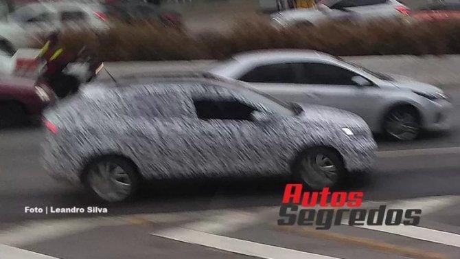 Винтернете появились снимки нового кроссовера Volkswagen