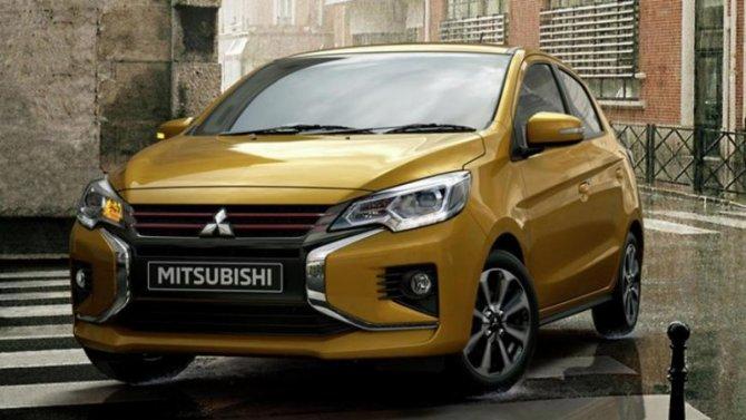 Винтернете показали новый Mitsubishi Mirage