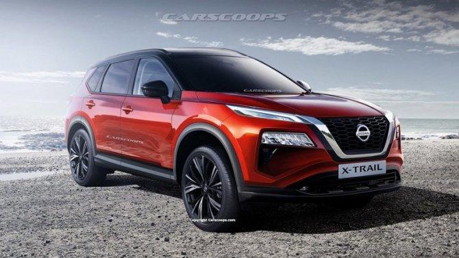 Новый Nissan X-Trail: стали известны некоторые подробности