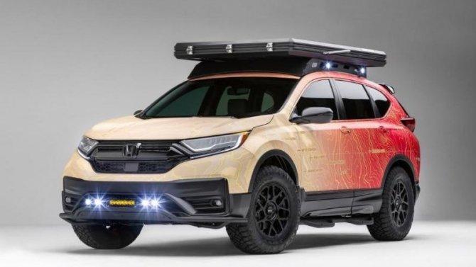 Honda CR-V получила новую модификацию