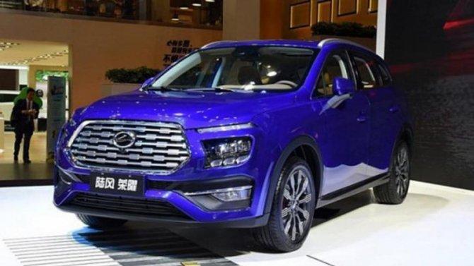 Китайский клон Hyundai Santa Feоказался вдвое дешевле оригинала