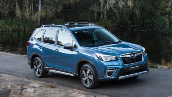Российские продажи Subaru ушли «вплюс»