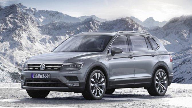 В России появится удлинённый Volkswagen Tiguan