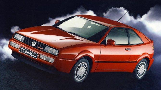 Volkswagen планирует возродить модель Corrado