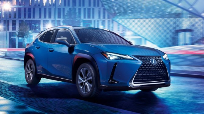 Гуанчжоу-2019: представлен первый Lexus «набатарейках»