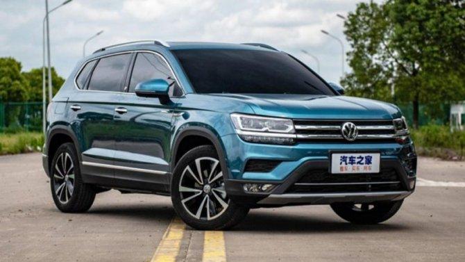 Гуанчжоу-2019: публике показан обновлённый Volkswagen Tharu