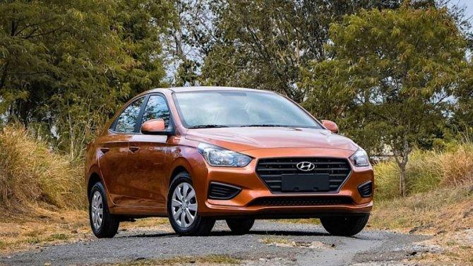 Hyundai Solaris получил бюджетную модификацию