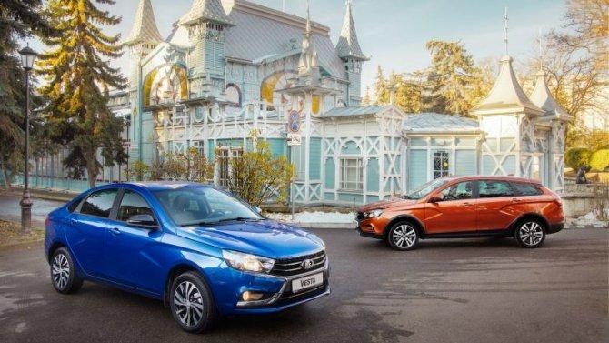 Lada Vesta получила новые варианты окраски