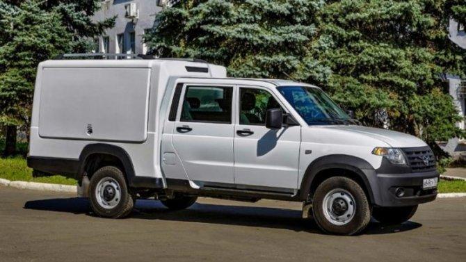 «УАЗ Профи» получил практичный фургон