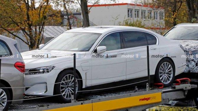 ВГермании испытывается BMW i7 - первые фото