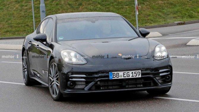 ВГермании замечен новый Porsche Panamera